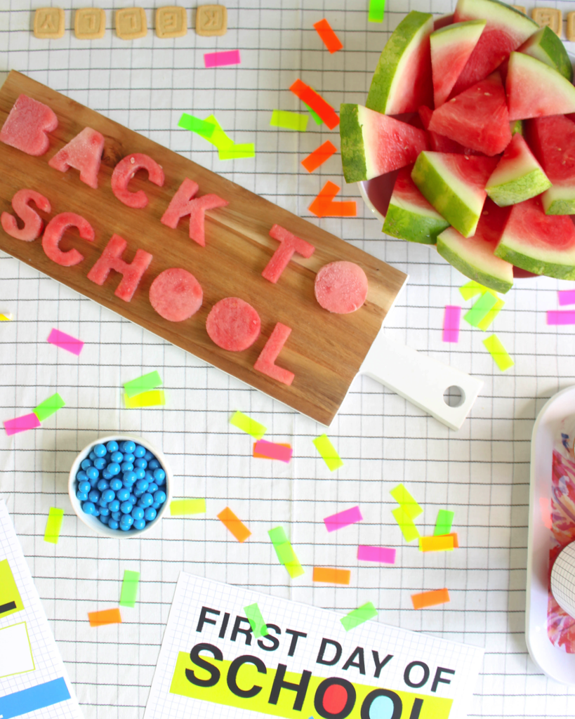 Love these Back to School party ideas with FREE PRINTABLES via @PagingSupermom