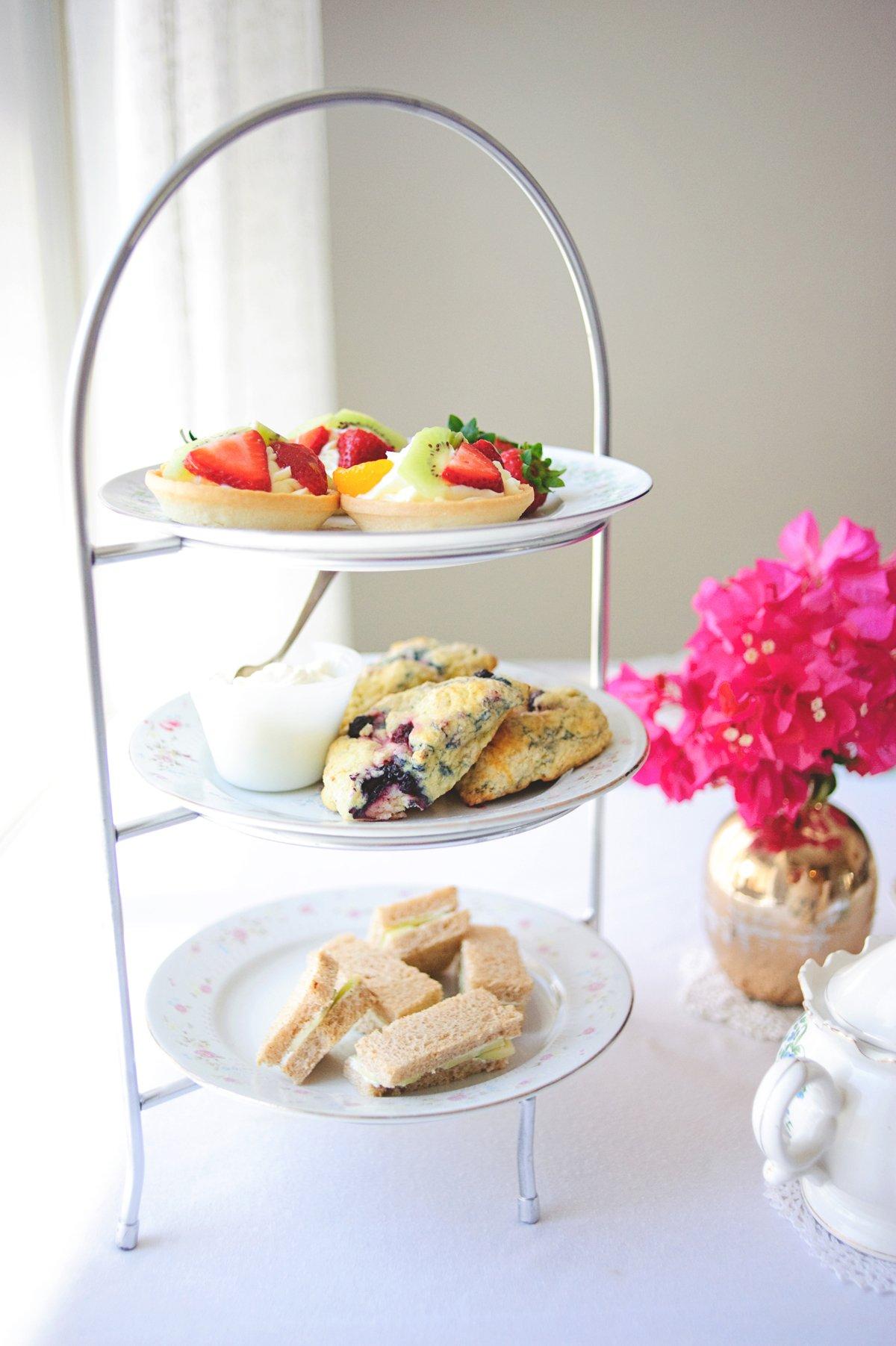Basic Menu for an elegant Tea Party