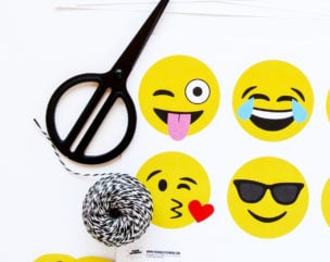 """Diaper Bash"" Emoji Party Ideas for a Funny Emoji Baby Shower"
