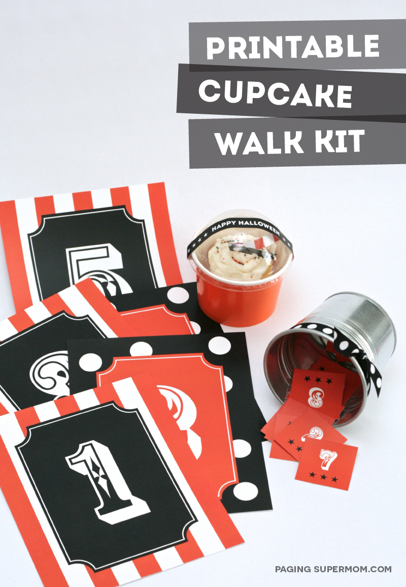 Free Printable Cake Walk Kit
