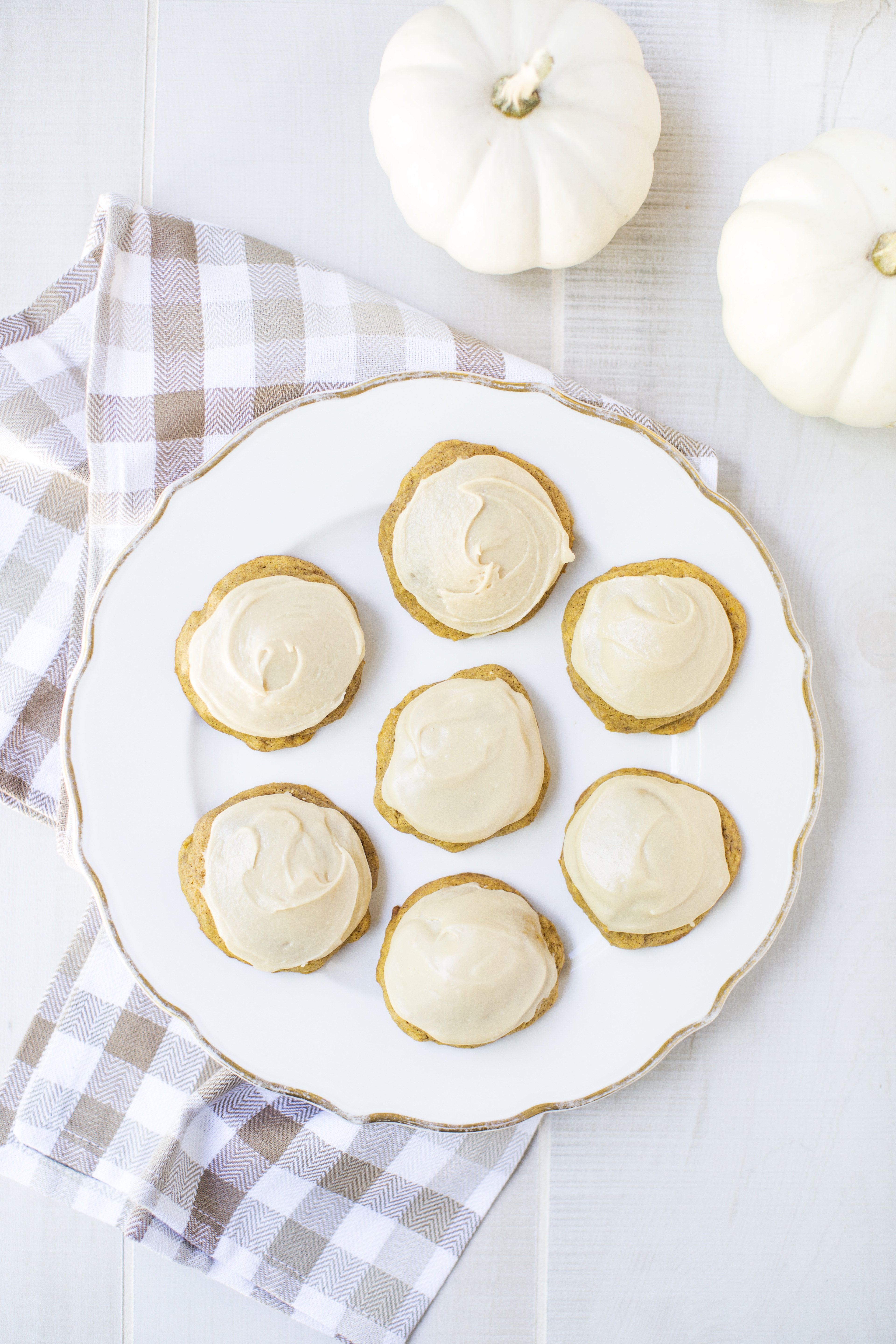 Caramel Frosted Pumpkin Cookies from I Heart Naptime's new cookbook via @PagingSupermom