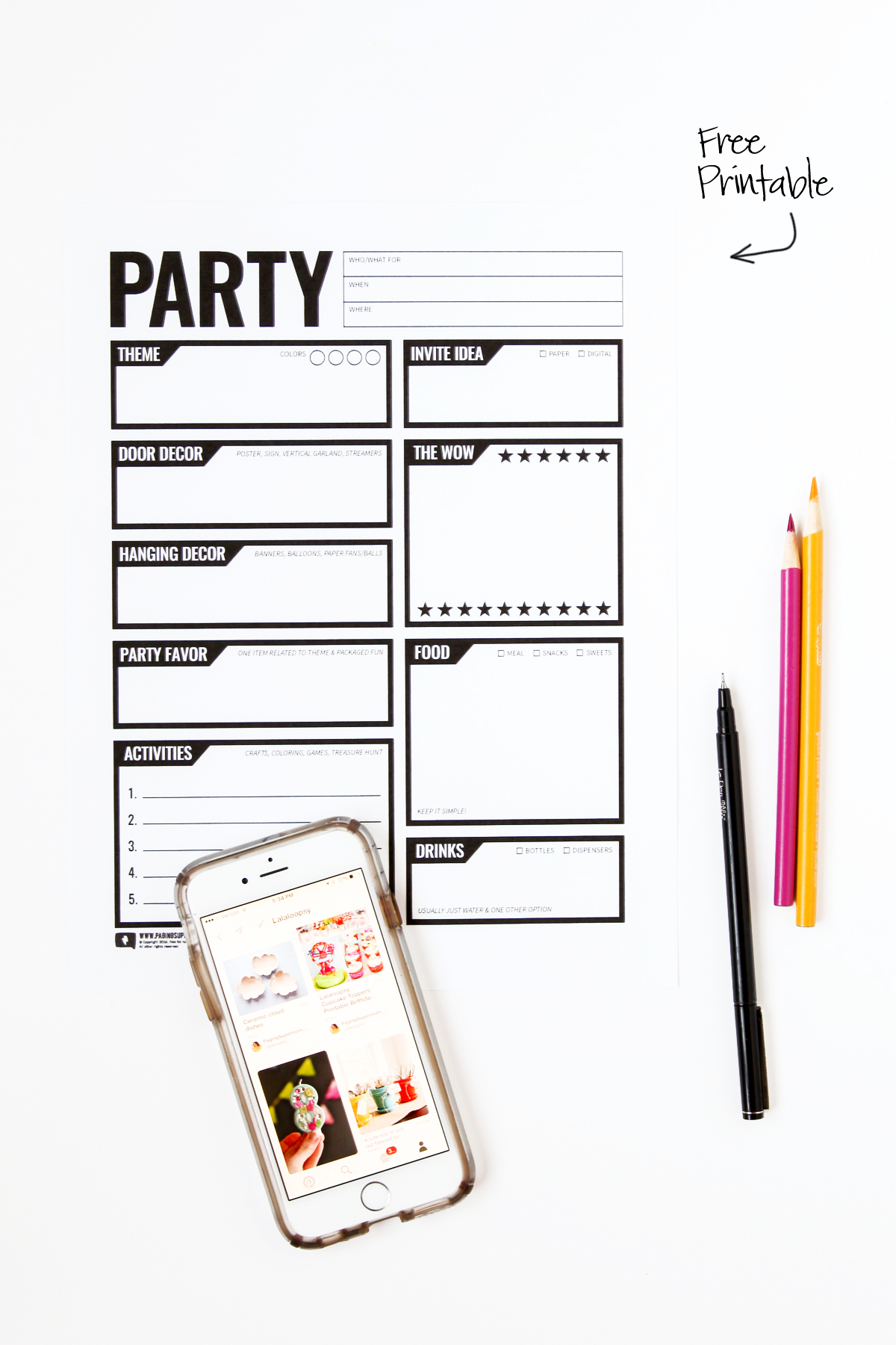 great ideas for simplifying how to plan a kid's birthday party via @PagingSupermom