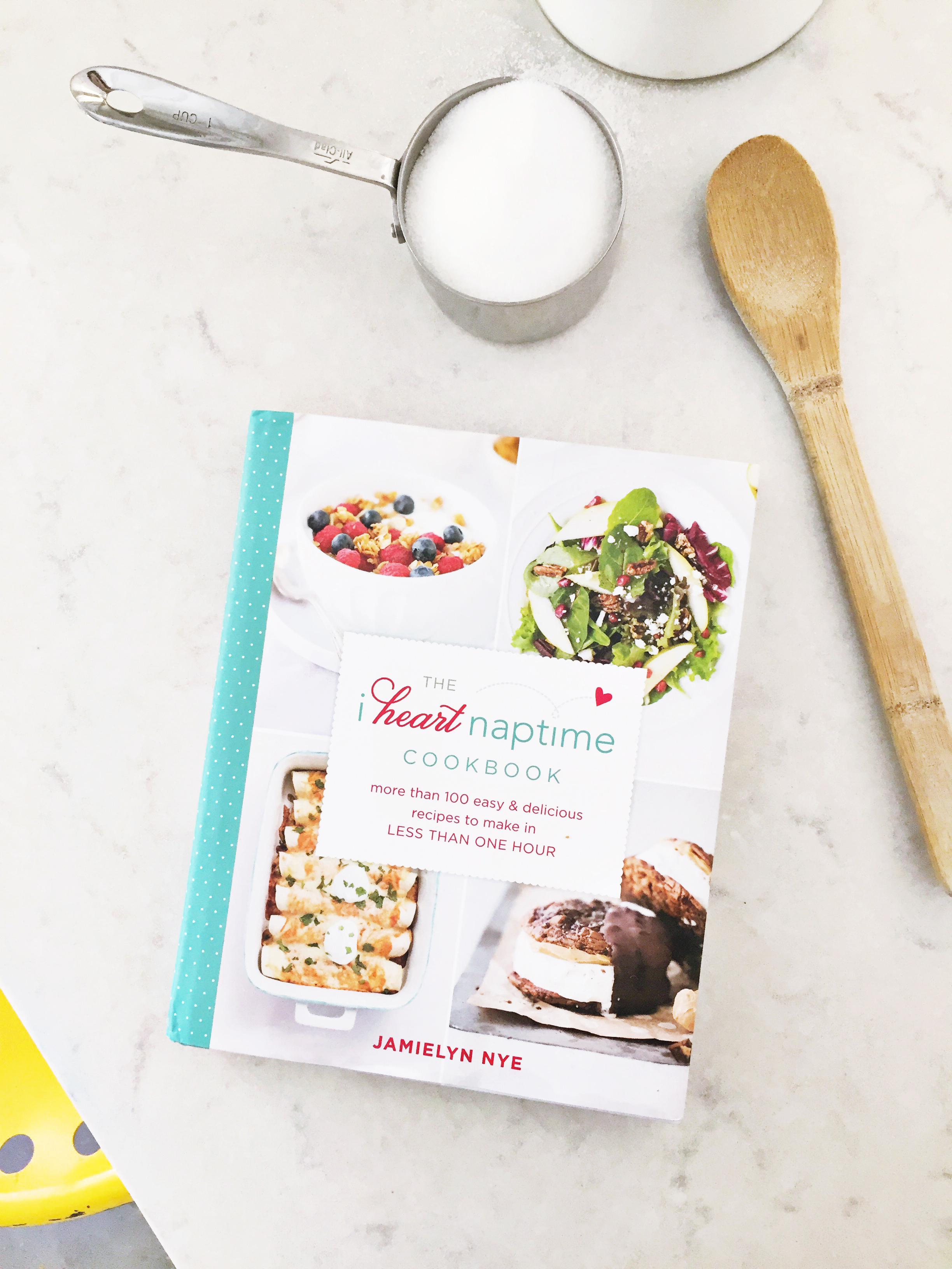 I Heart Naptime Cookbook is one of the Best Cookbooks for Kids via @PagingSupermom