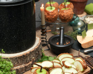 Woodland Witch Halloween Dinner Party