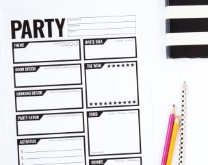Party Planning Checklist: How To Plan a Party & Keep Your Sanity!