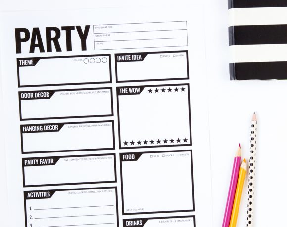 A Supermom's Guide to Party Planning
