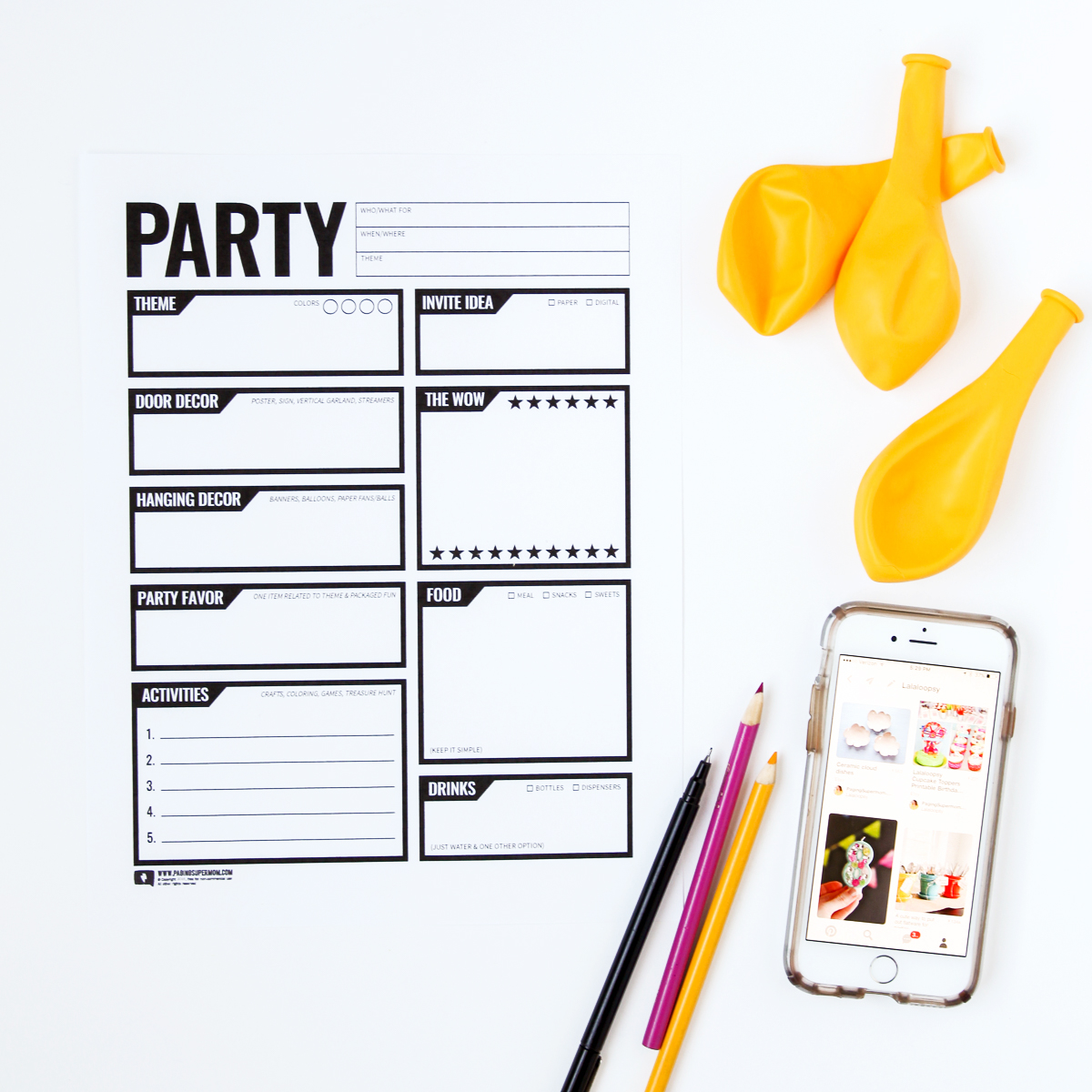 How to plan a kid's birthday party without getting overwhelmed! via @PagingSupermom