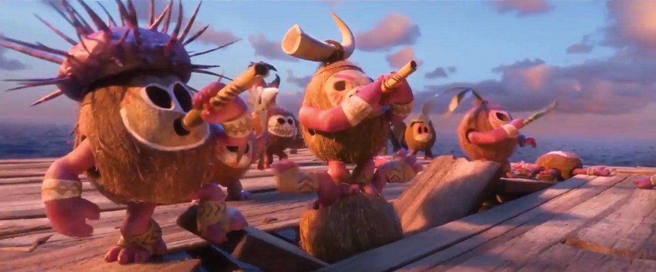 Fierce but Cute Kakamora characters from Disney's Moana via @PagingSupermom