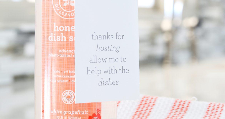 Dish Soap Hostess Gift Ideas