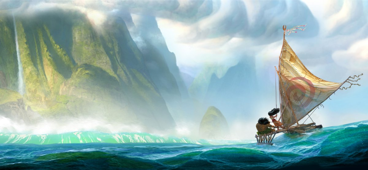 Disney's Moana has gorgeous imagery via @PagingSupermom