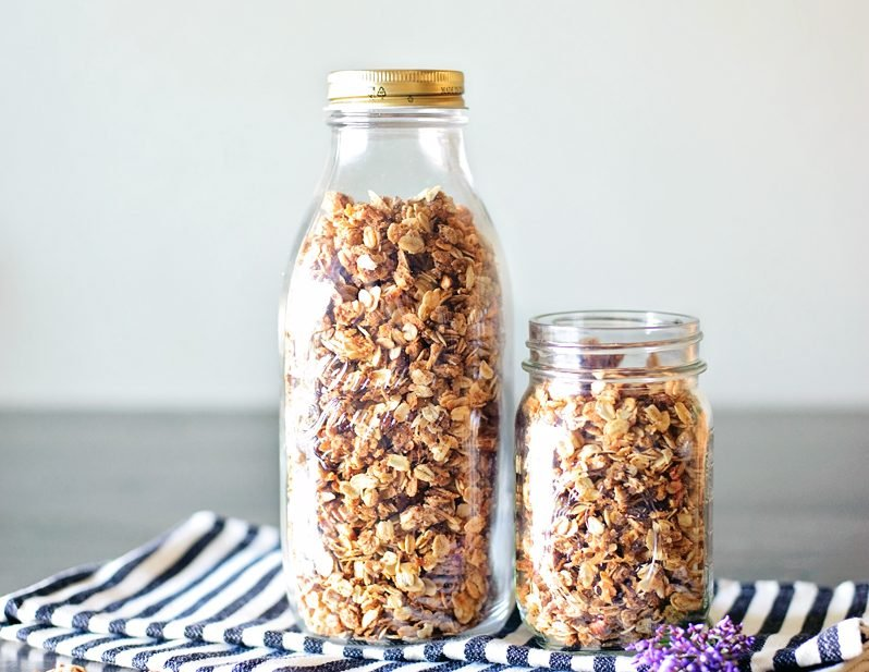 Simple Homemade Granola Recipe