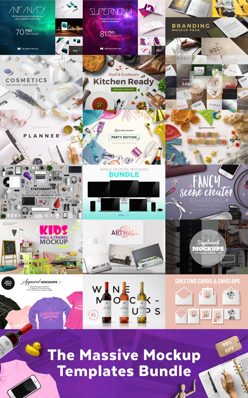 Massive Mock Ups Bundle Deal from Design Cuts via @PagingSupermom