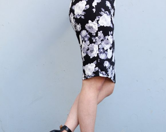 Mom Style: How to Wear a Floral Skirt