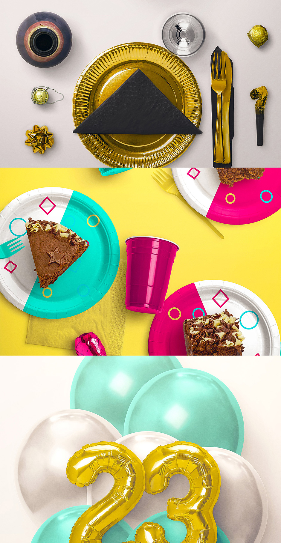 Party Edition Mock Up Kit via @pagingsupermom
