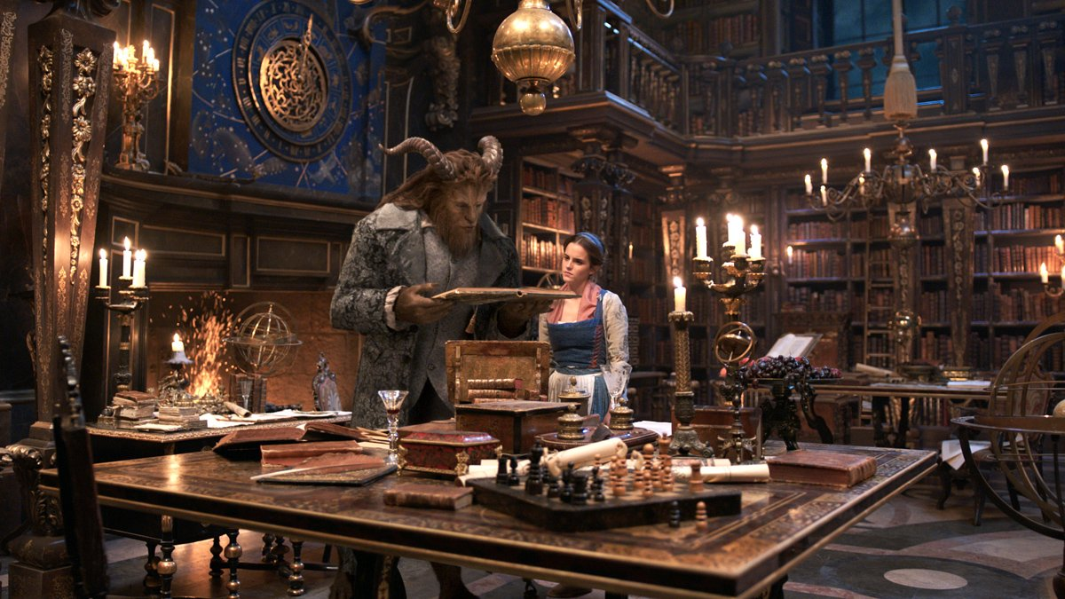 Is Beauty and the Beast Too Scary For Kids? Read a movie review from a parent's perspective @PagingSupermom