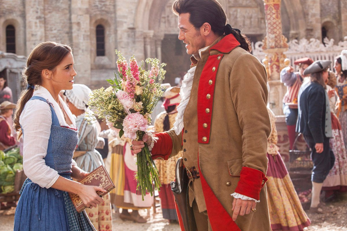 Belle in the new Beauty and the Beast movie. Read a parent's review @PagingSupermom