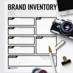 Free Printable Branding Inventory Worksheet via @PagingSupermom