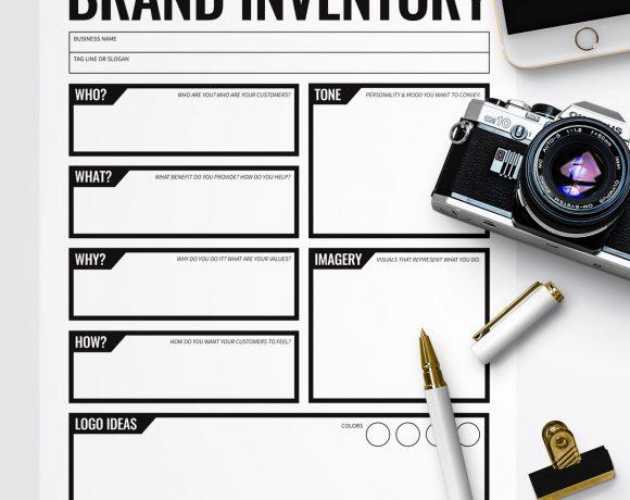 Free Printable Branding Worksheet