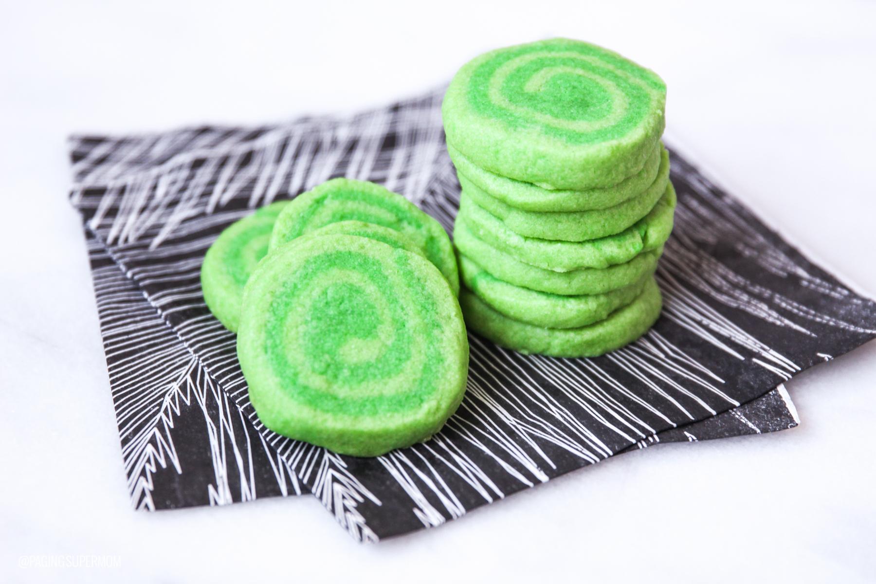 Recipe for Moana Heart of Te Fiti Cookies @PagingSupermom