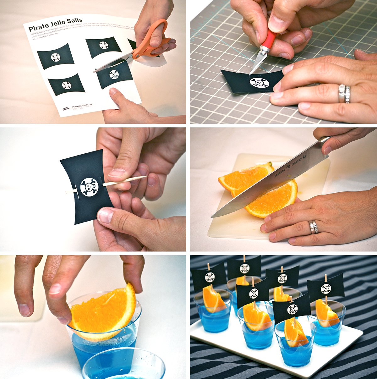 Pirate Party Food Ideas including FREE printable templates via @PagingSupermom