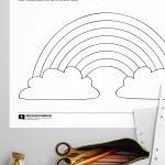 Rainbow Colors Worksheet - free printable educational worksheets from @PagingSupermom