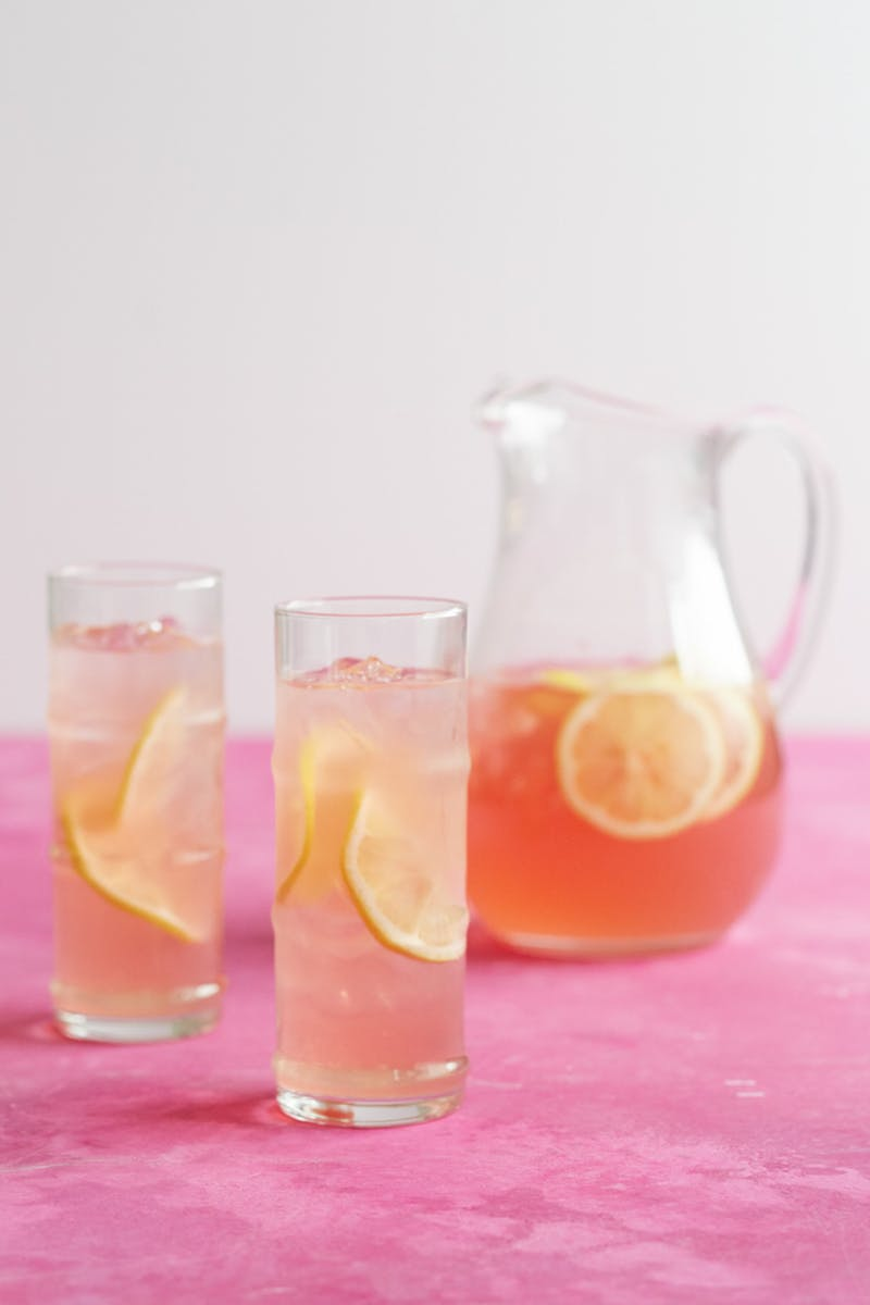 Rose Lemonade - Rose Recipes Round Up via @PagingSupermom