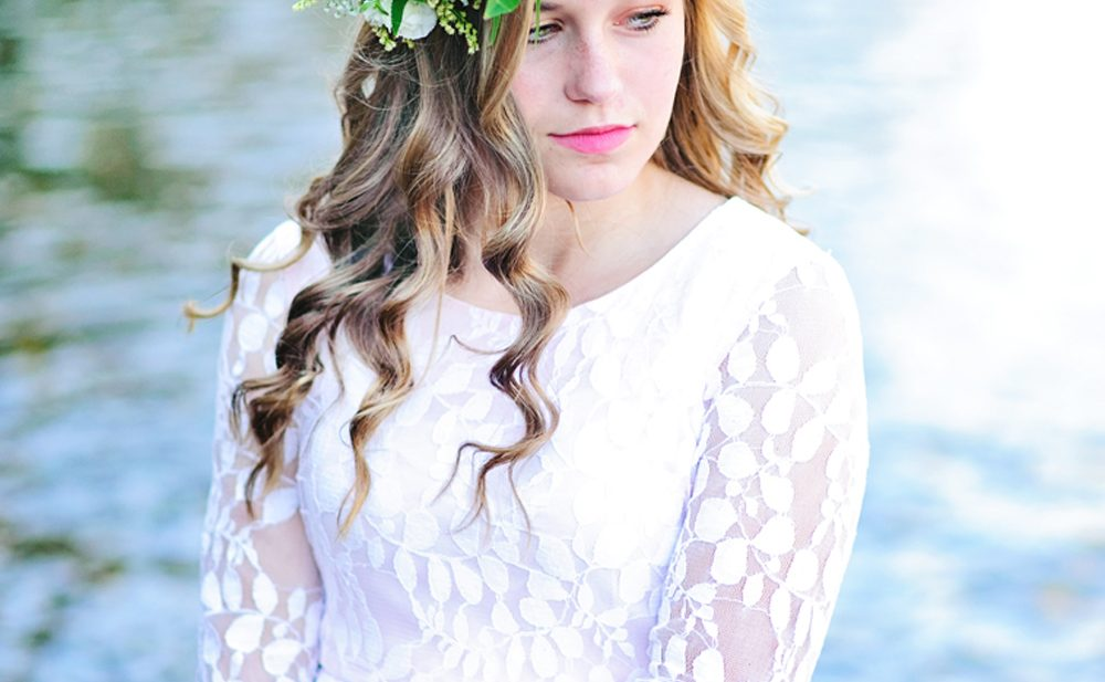 Easy Flower Crowns with Fresh Flowers