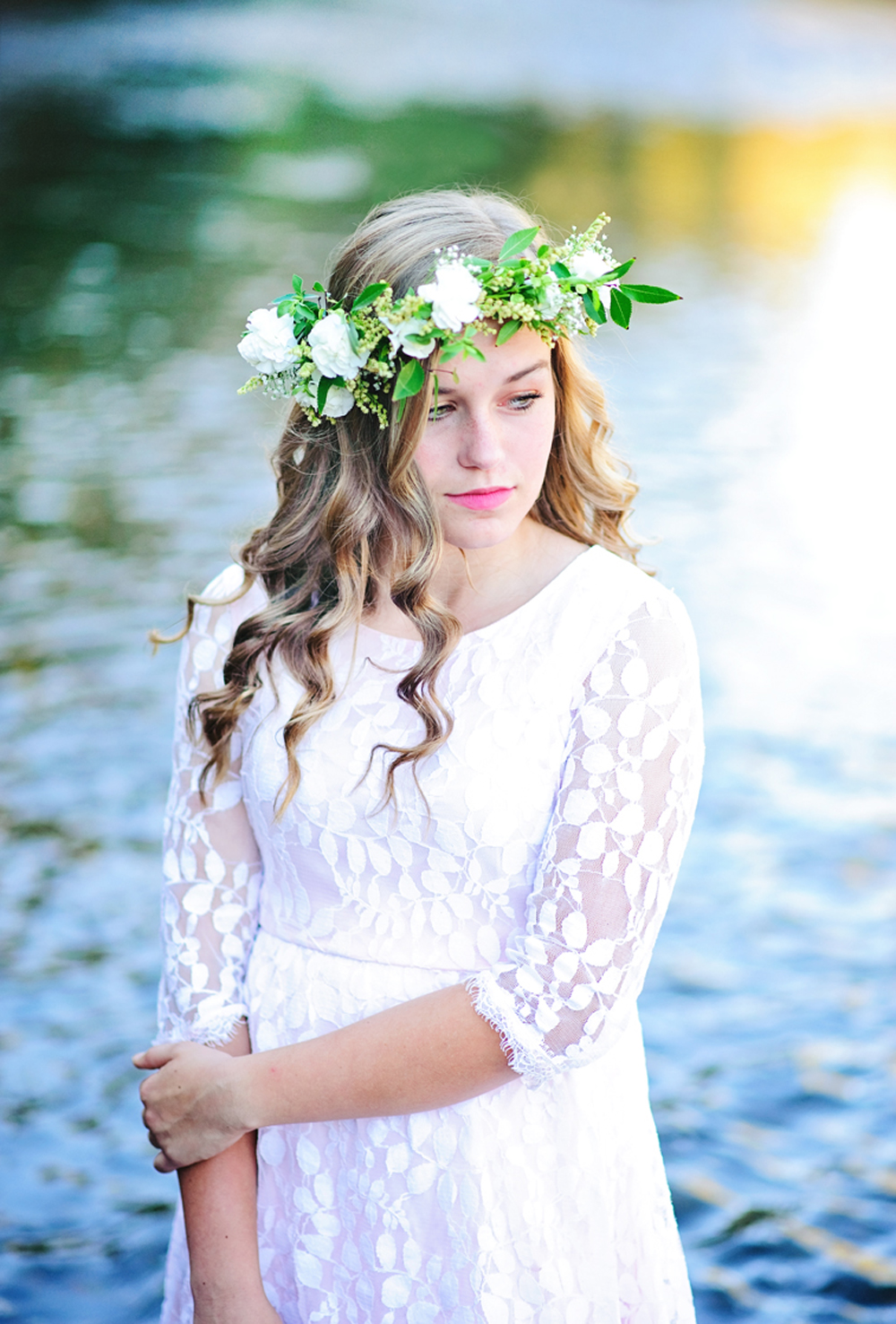 How to Make a Flower Crowns with Fresh Flowers