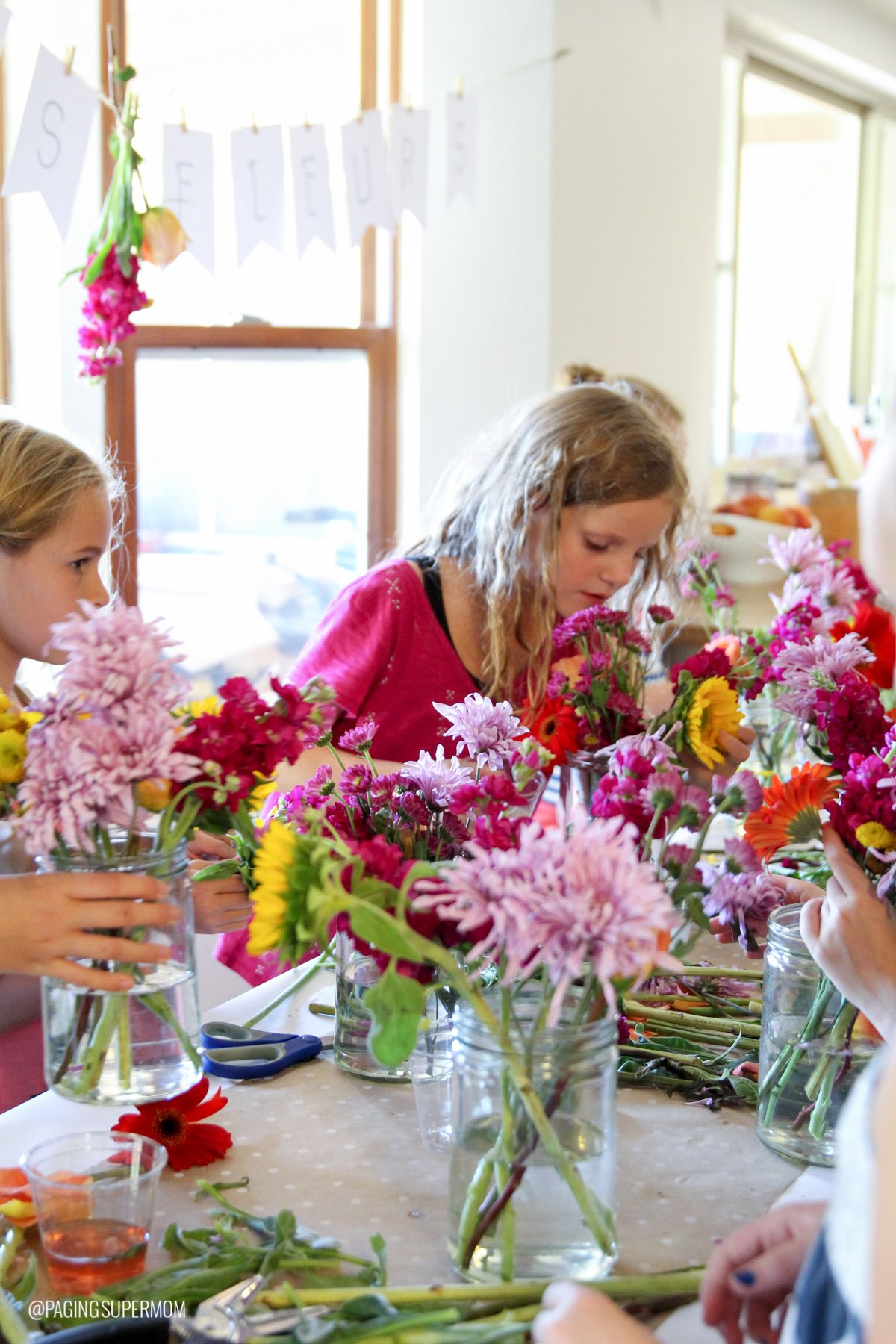 Tween Party Ideas - Flower Arranging party