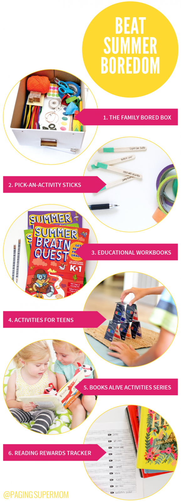 Help for Moms Battling Summer Boredom from @PagingSupermom