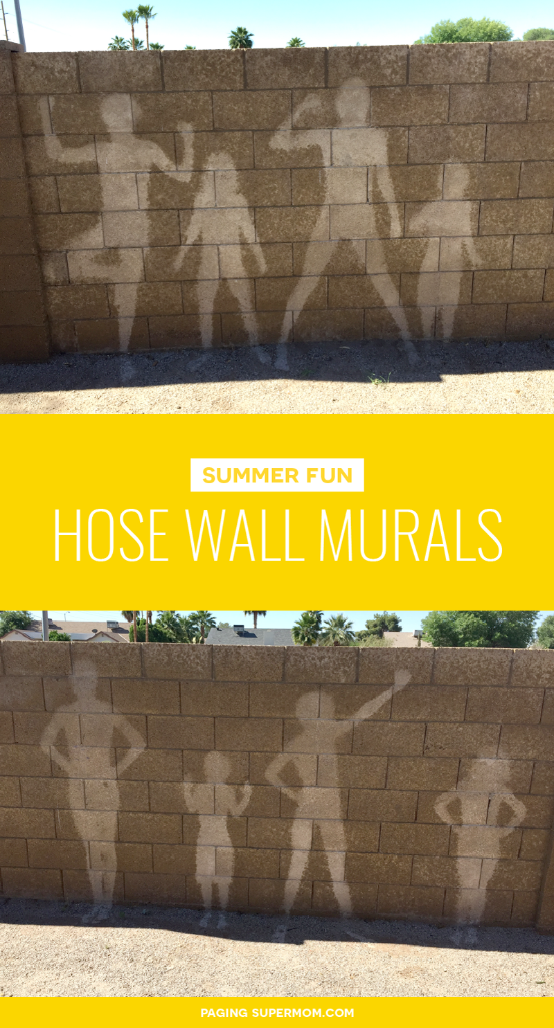 These Hose Wall Murals are SO MUCH FUN! via @PagingSupermom