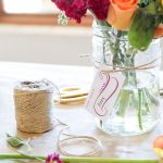 Flower Arranging Party - free printables from @PagingSupermom
