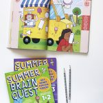Summer Brain Quest Workbooks to keep kids #SummerSmart via @PagingSupermom