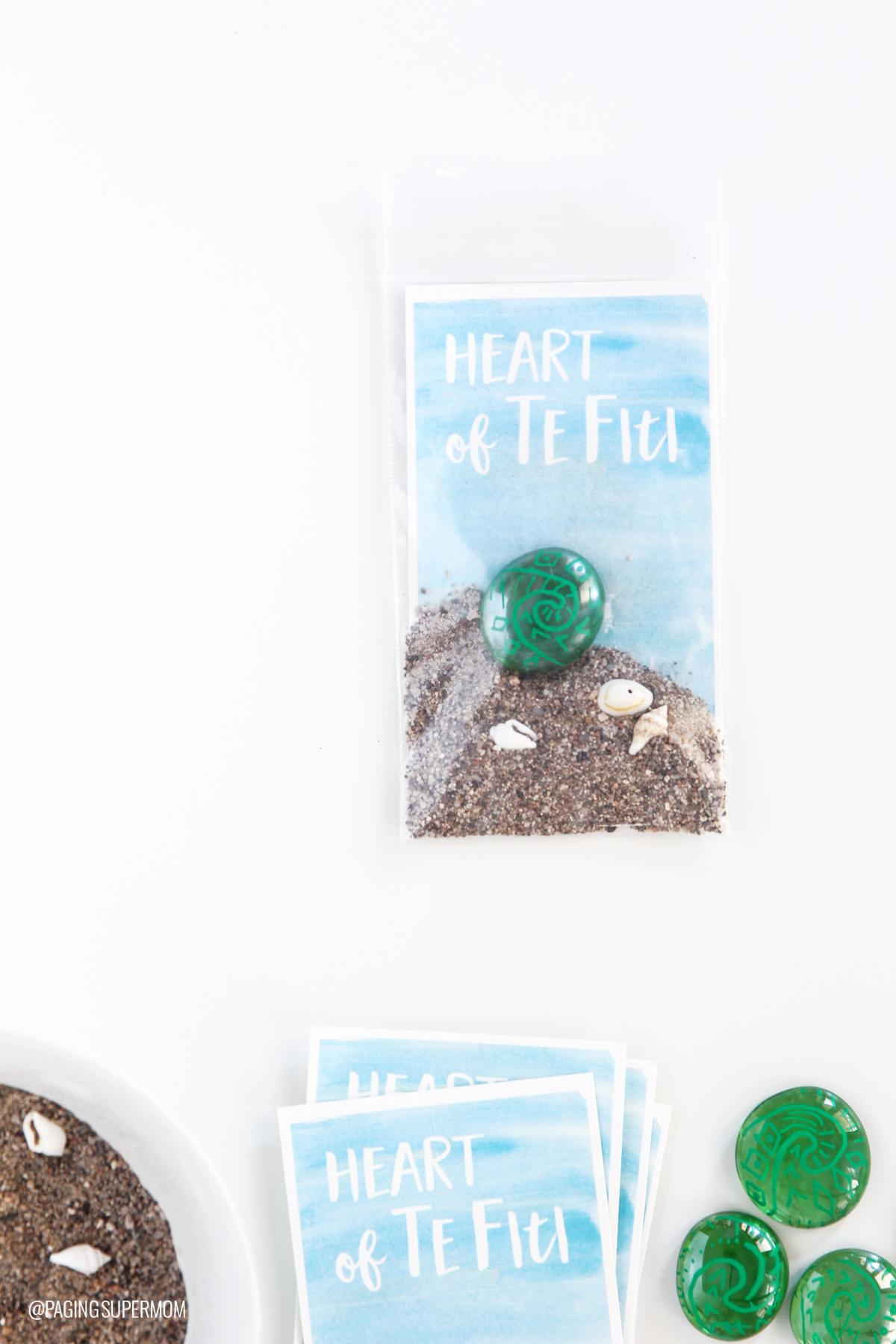 Moana Heart of Te Fiti Gift Tags
