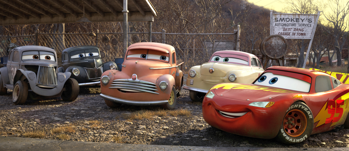 Racing Legends from #Cars3 via @PagingSupermom.