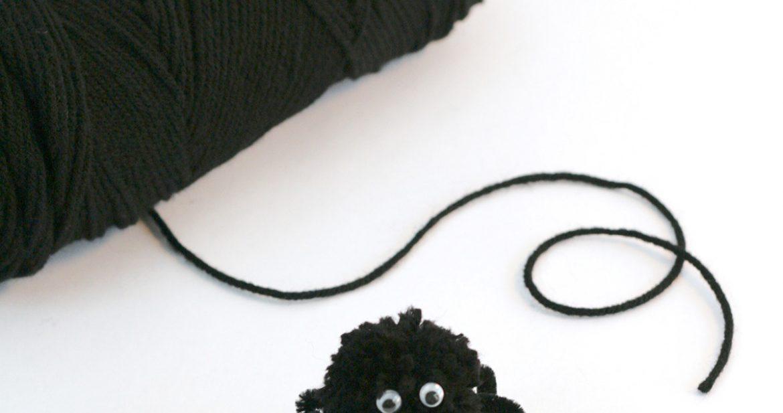 Easy Spider Craft: Make a Web & Fuzzy Spider