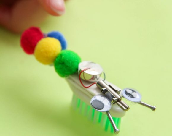 STEM Fun: How to Make Bristle Bots