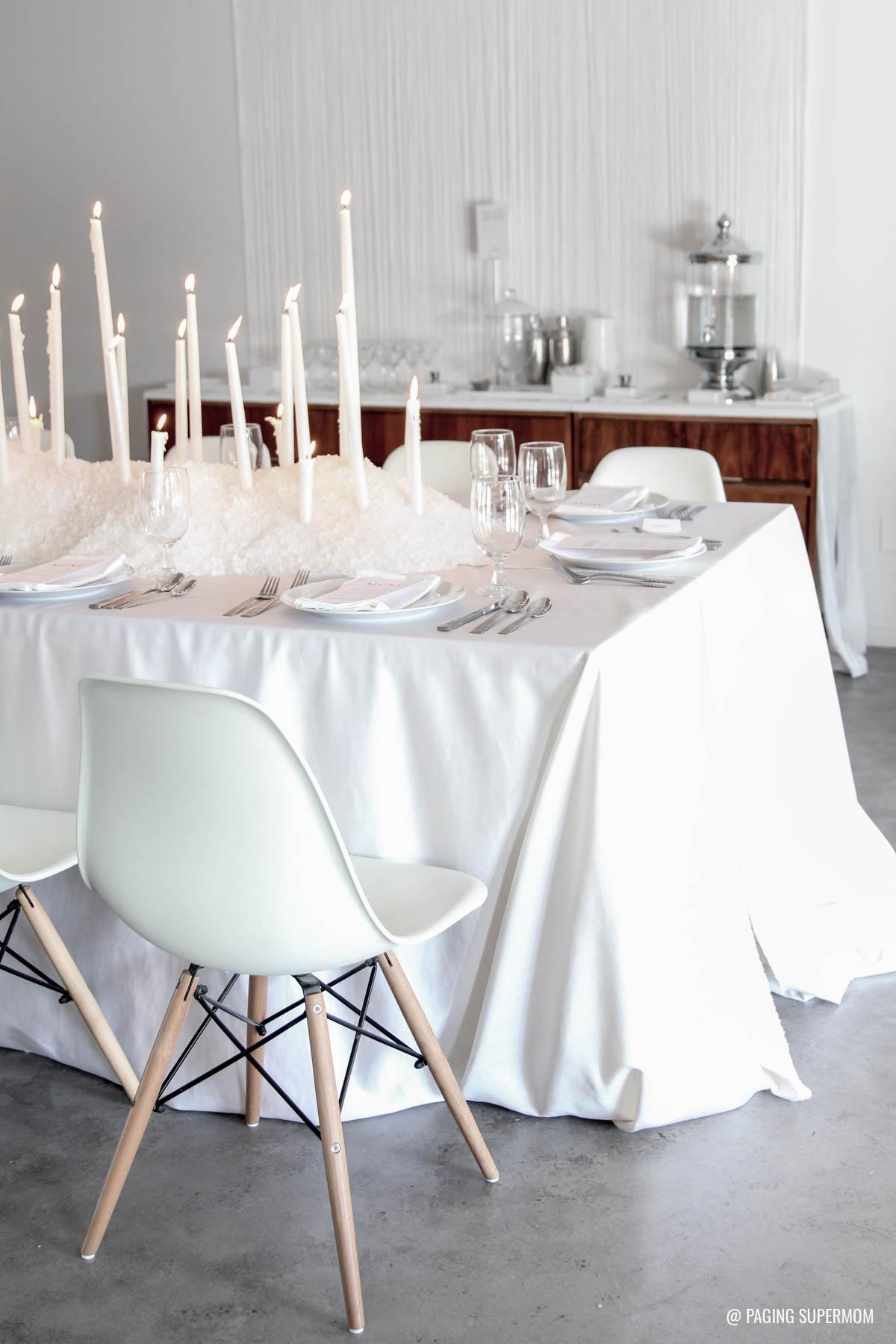 White Witch - An Elegant Halloween Party via @PagingSupermom