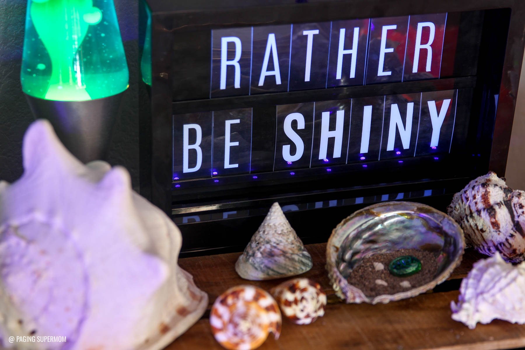 Rather Be Shiny Party! from Moana's Realm of Monsters. The coolest Blacklight Party ideas via @PagingSupermom