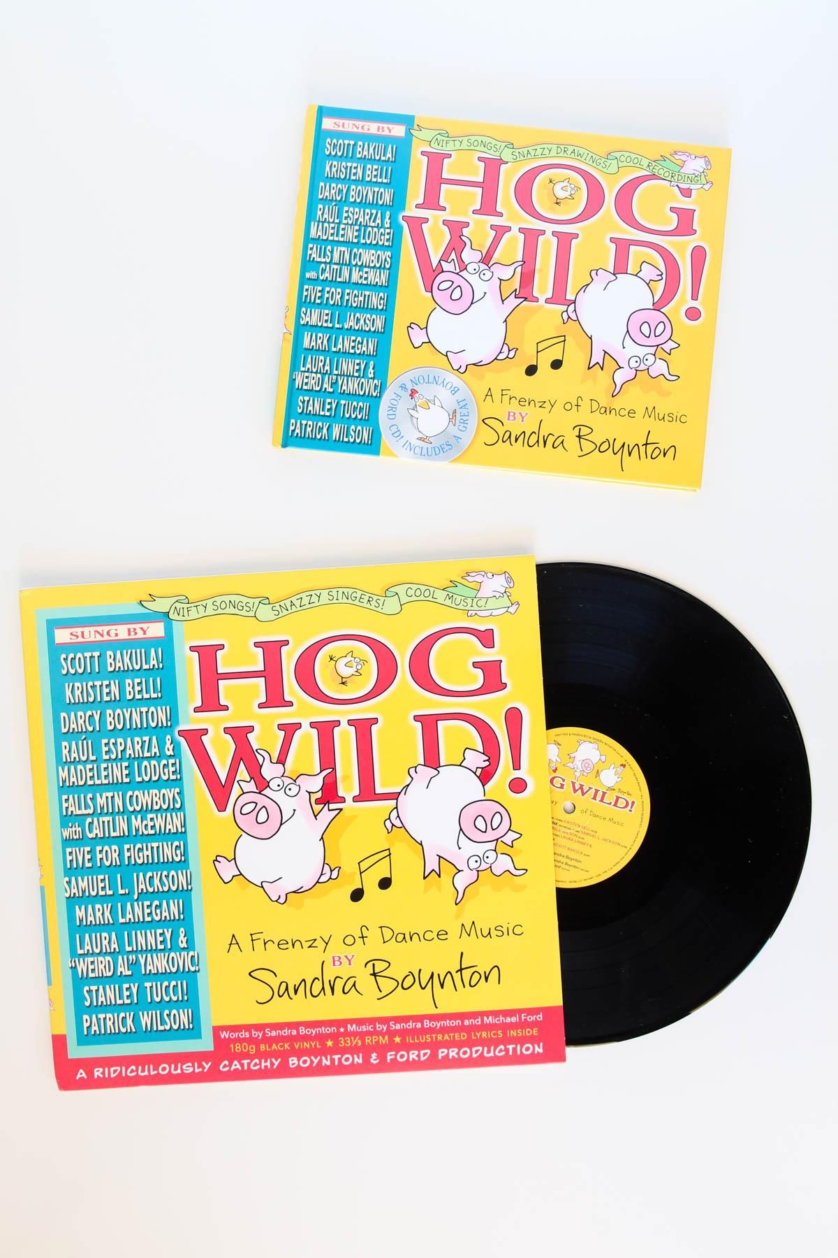 Hog Wild Vinyl Record from Sandra Boynton via @PagingSupermom