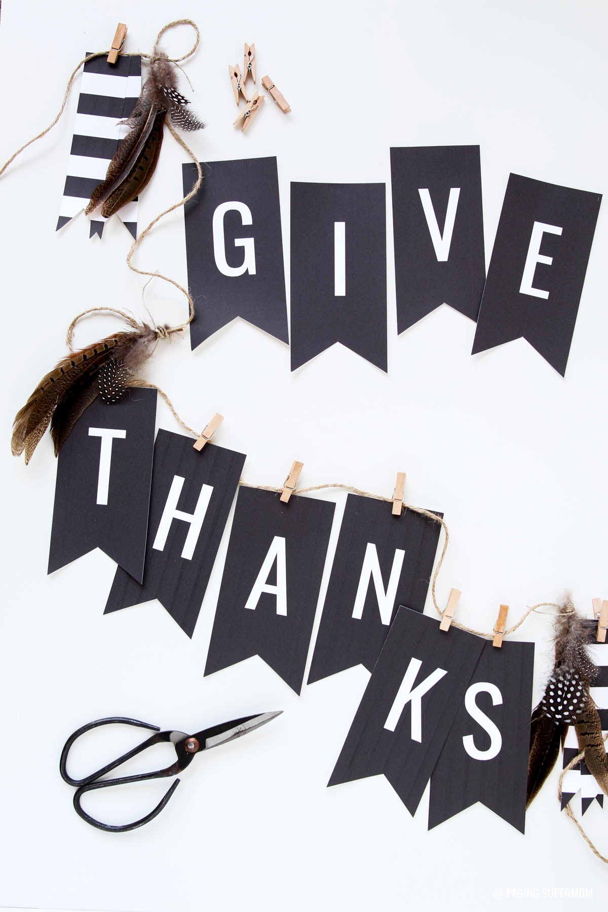 image relating to Printable Thanksgiving Banner referred to as No cost Thanksgiving Banner - \
