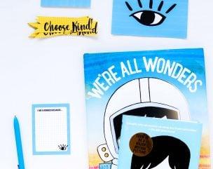 #ChooseKind Free Printable Pack for Wonder Book
