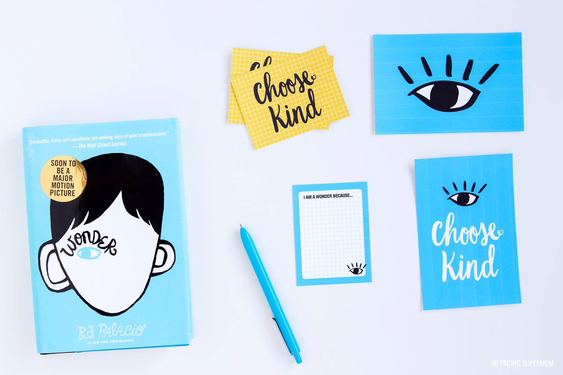 Wonder Book inspired #ProjectLife Journaling Cards #ChooseKind via @PagingSupermom