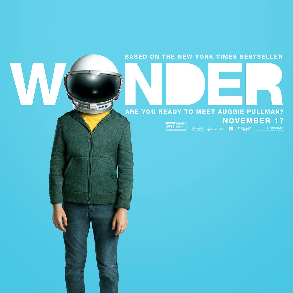 Wonder Movie Poster - Read a Parents Review of WONDER via @PagingSupermom