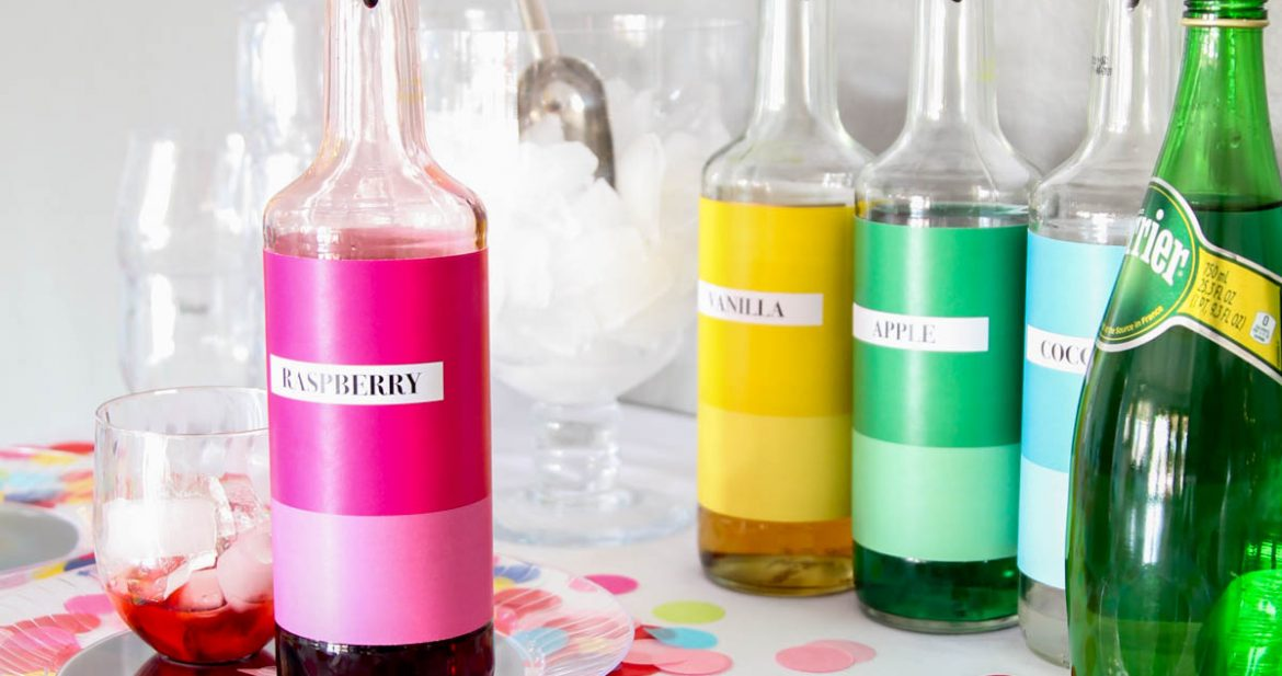Colorful Family-Friendly New Years Party Ideas