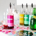 Family-Friendly New Years Party Ideas with a Free Printable Italian Soda Bar