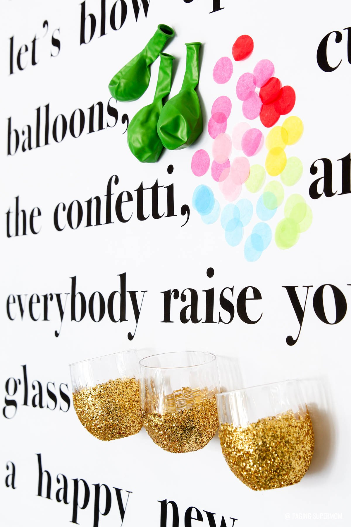 Family friendly new years party ideas free printables game ideas kate spade story wall inspired this new years toast poster get the free printable from publicscrutiny Choice Image