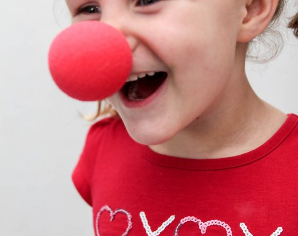 Clown Nose Funny Kids Valentines