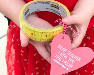 Easy Idea For Teacher Valentines + Free Template