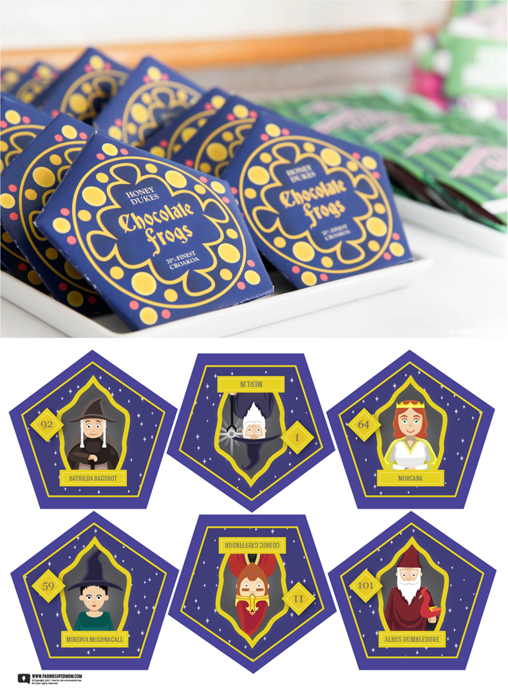 Free Chocolate Frogs Template For A Harry Potter Party The Printable Packaging